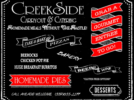 Creekside Catering Needs a New Home