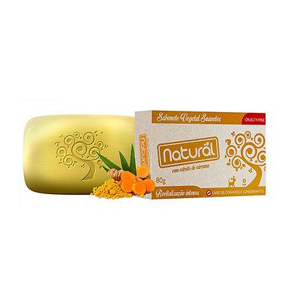 Sabonete Natural com Extrato de Cúrcuma