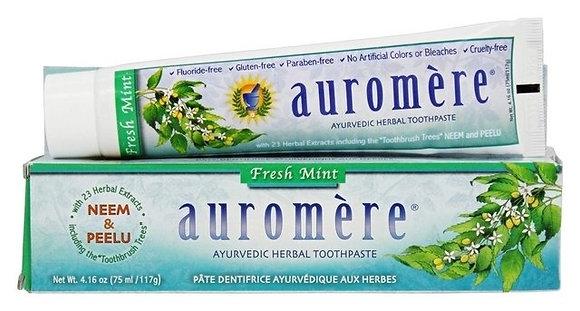 Creme Dental Auromere Fresh Mint