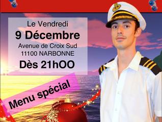 Vendredi 9 Décembre... Le NS Restaurant