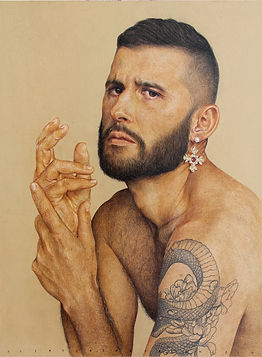Alireza Shojaian, Benjamin, 60 x 45 cm -