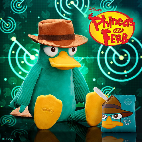 Perry the Platypus – Scentsy Buddy with a Phineas & Ferb: Best Day Ever Scent