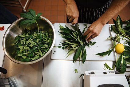 cannabis cooking edibles marijuana chef dinner valentines beverly hills