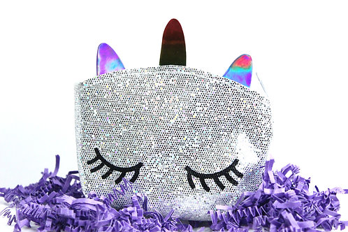 Unicorn Collection Glitter Pouch
