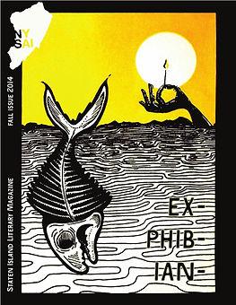 Exphibian, NYSAI Press literary magazine, fall 2014