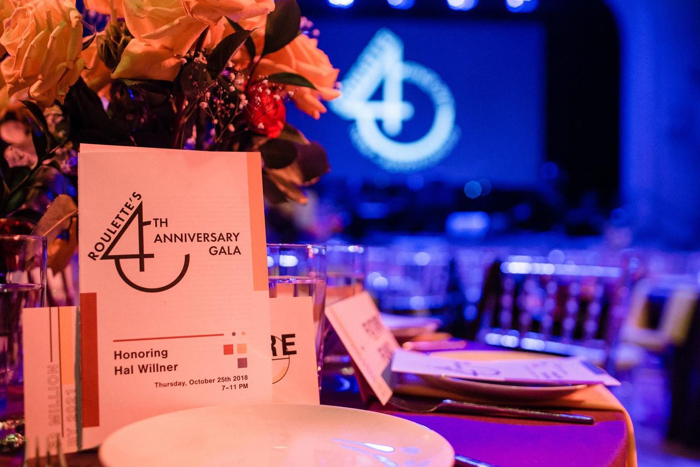 40th Anniversary Gala program