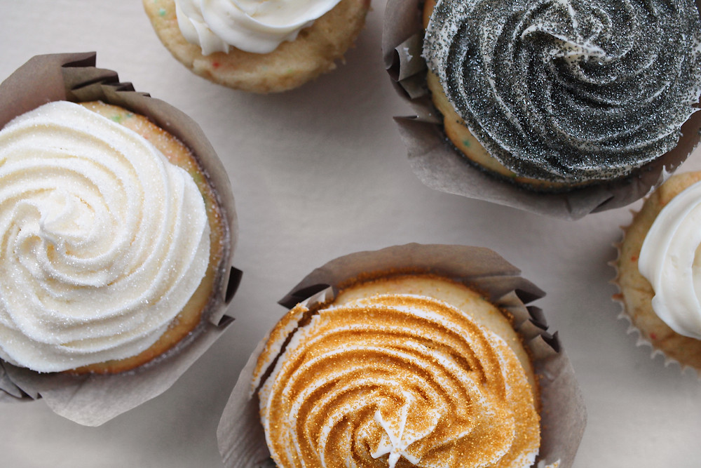 Fancy Boxed Cupcakes