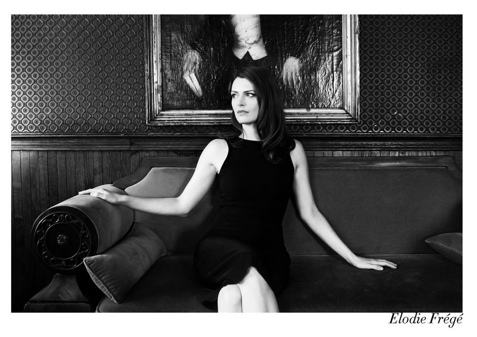 Elodie Frégé par Nicolas Vidal  #chanteusesdefrance