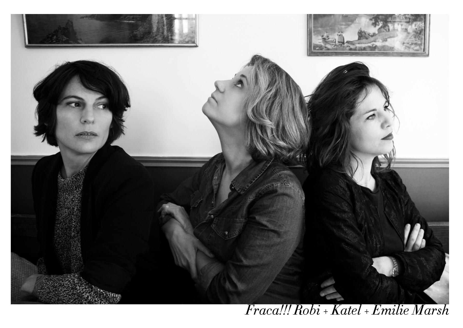 Robi, Katel et Emilie Marsh par Nicolas Vidal  #chanteusesdefrance