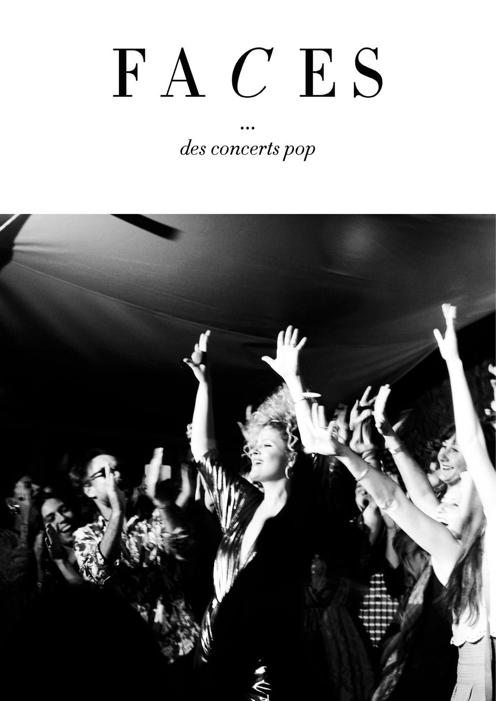 Faces - Des concerts pop