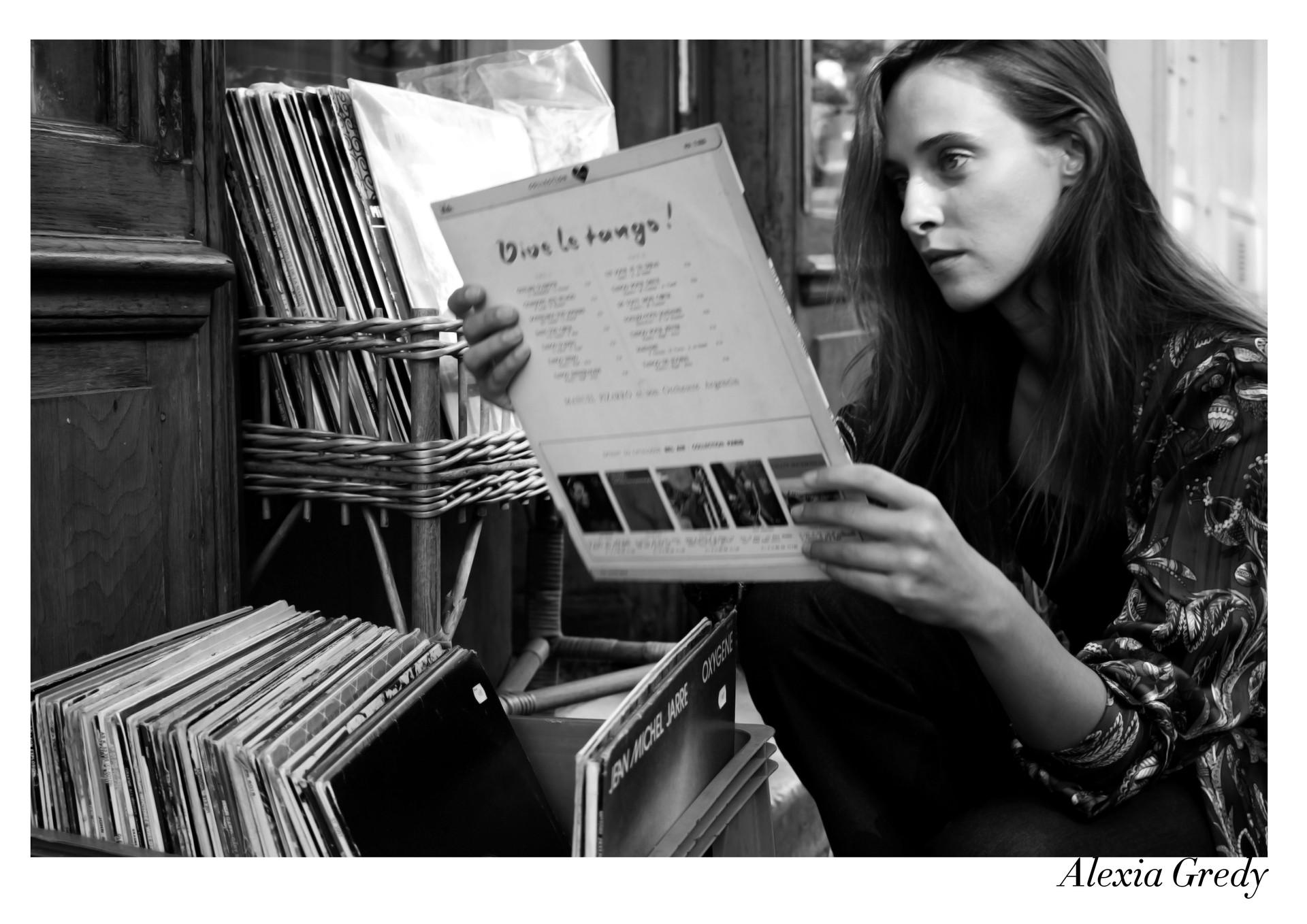 Alexia Gredy par Nicolas Vidal  #chanteusesdefrance