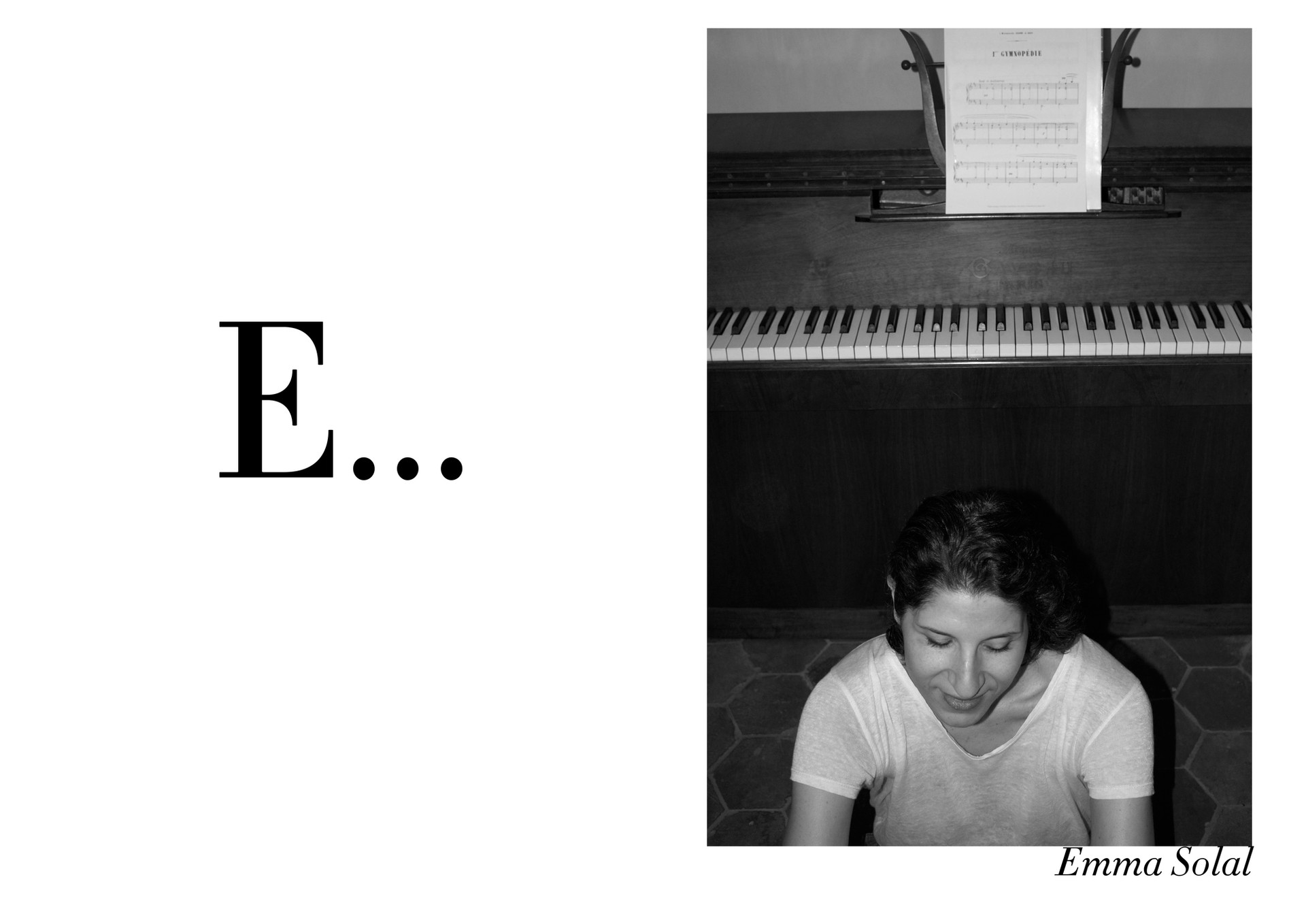 Emma Solal par Nicolas Vidal  #chanteusesdefrance
