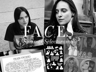 Summer Selectorama Faces Zine