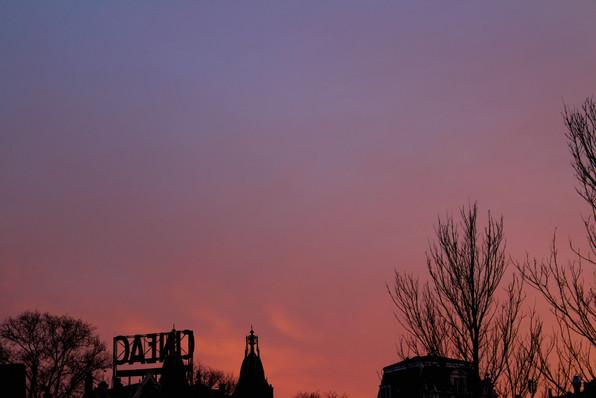 Le ciel d'Amsterdam