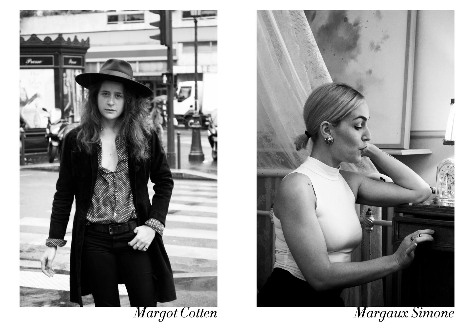 Margot Cotten & Margaux Simone par Nicolas Vidal  #chanteusesdefrance