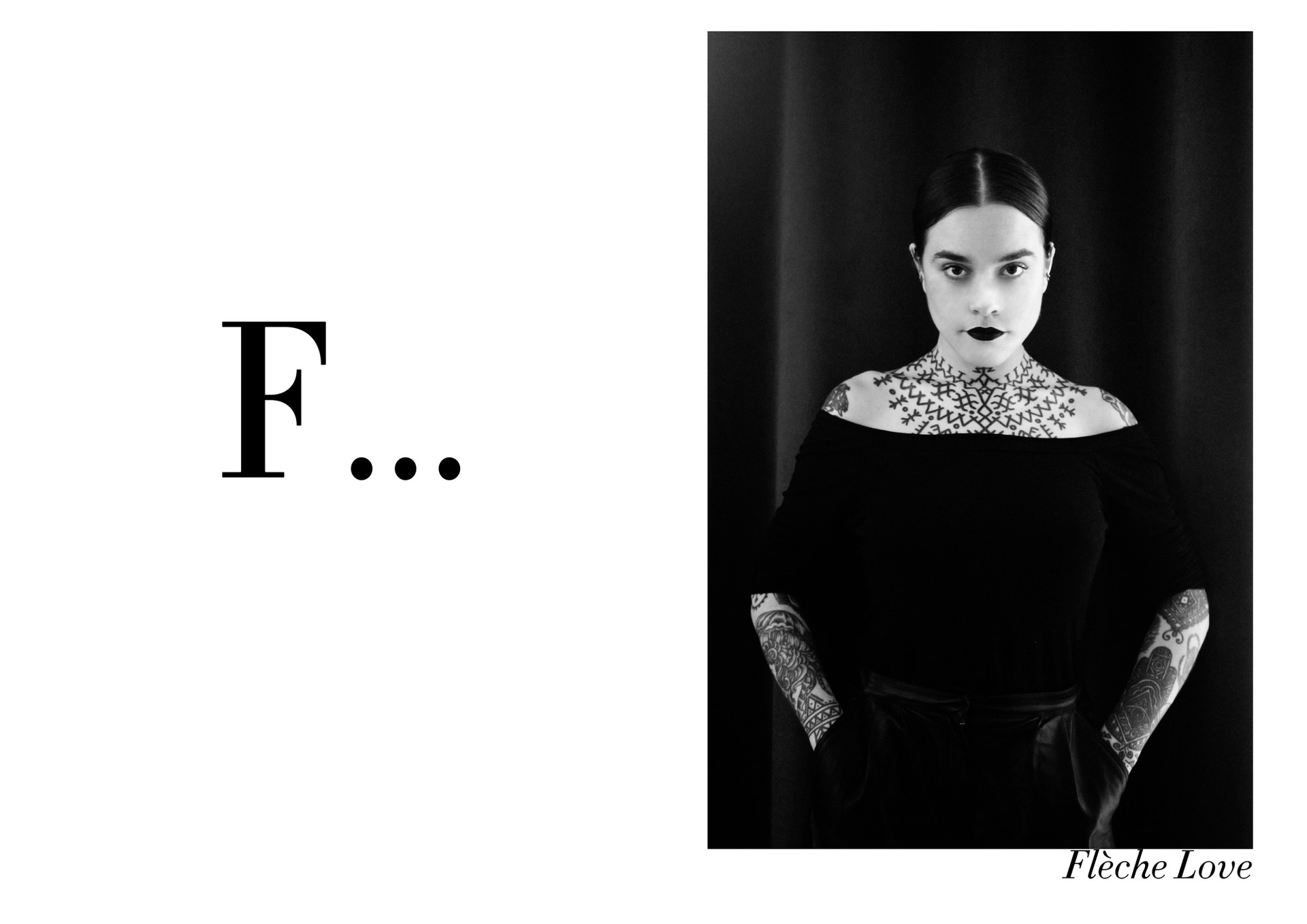 Flèche Love par Nicolas Vidal  #chanteusesdefrance