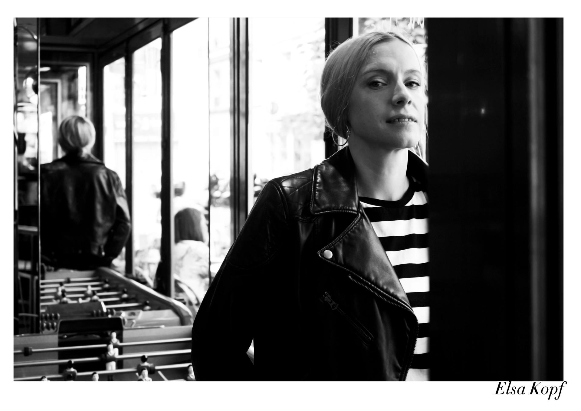Elsa Kopf par Nicolas Vidal  #chanteusesdefrance