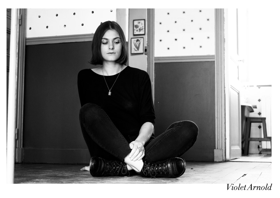 Violet Arnold par Nicolas Vidal  #chanteusesdefrance