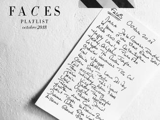 Faces Octobre / la playlist