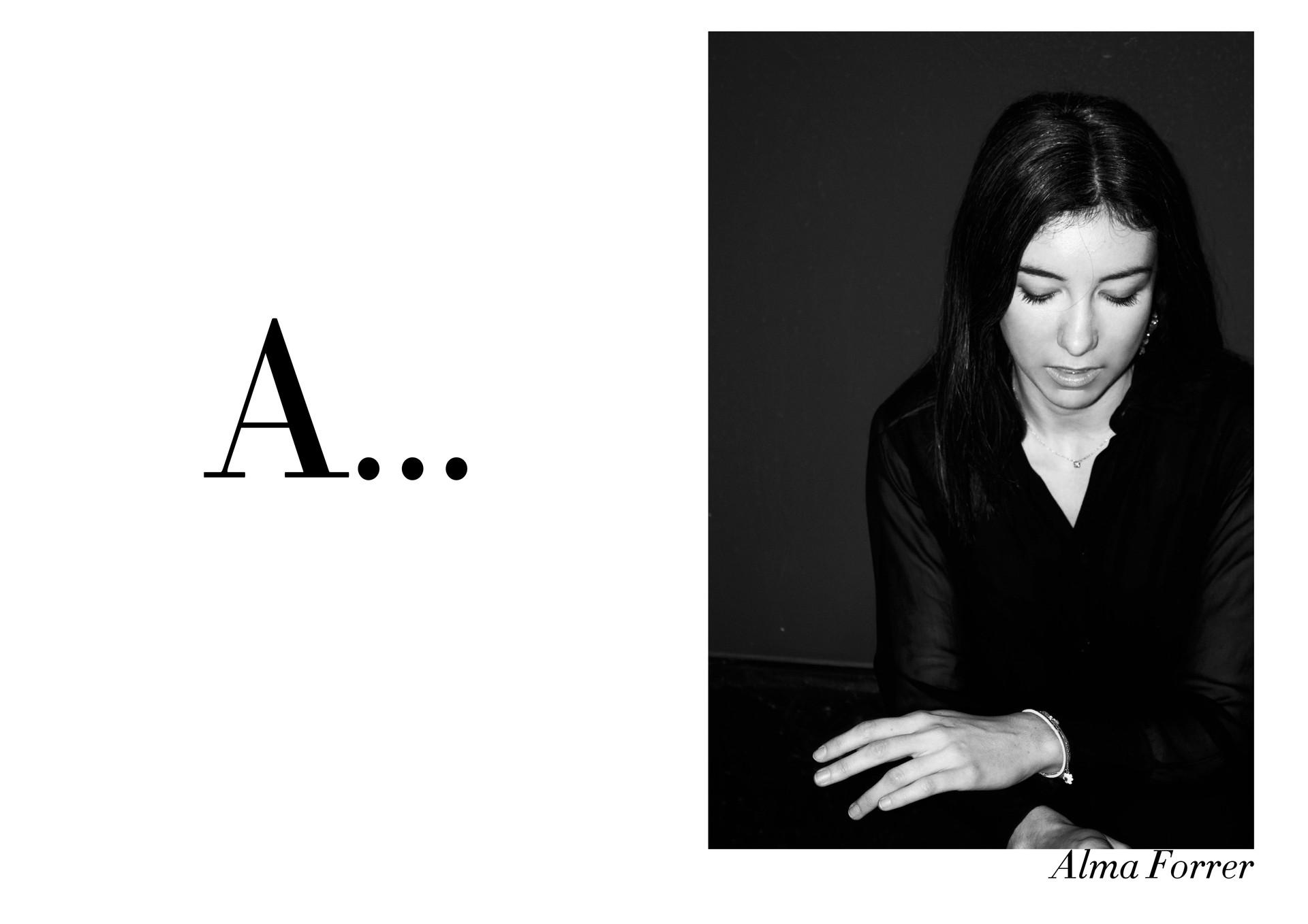 Alma Forrer par Nicolas Vidal  #chanteusesdefrance