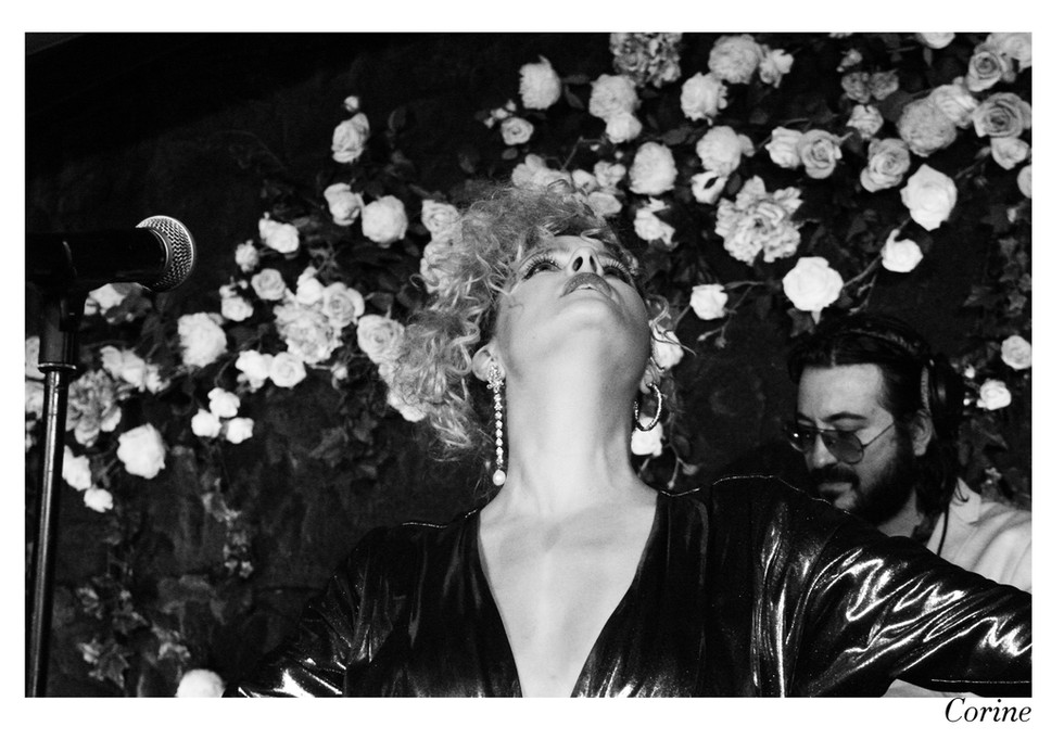 Corine par Nicolas Vidal  #chanteusesdefrance