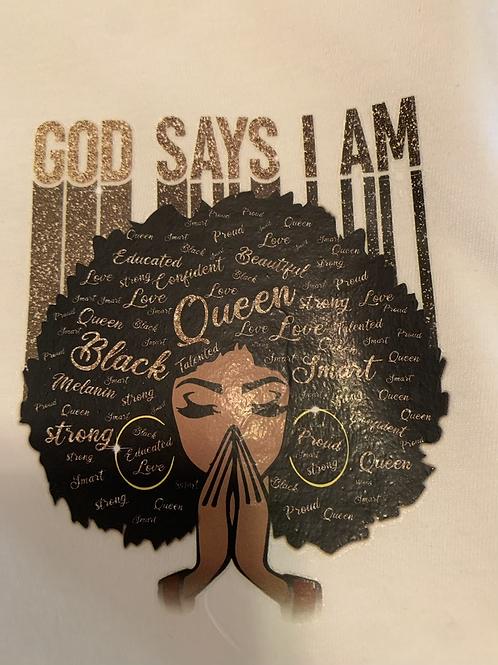 God Says I Am