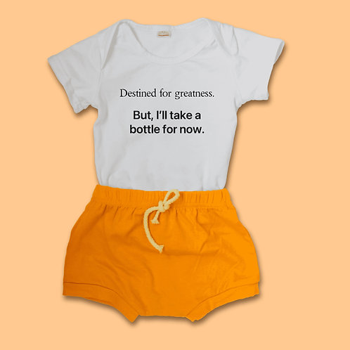 Destined for greatness baby tee