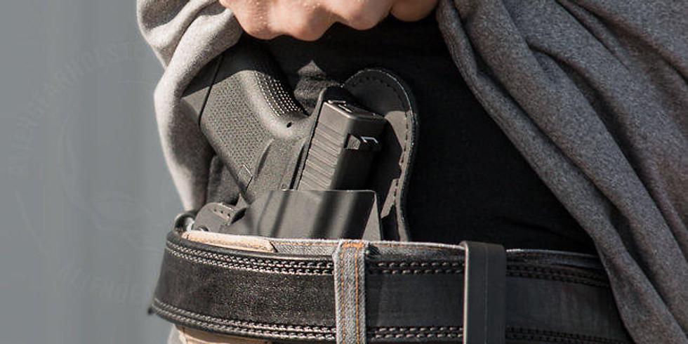 Concealed Carry Weapon: porto occulto dell'arma per difesa personale.
