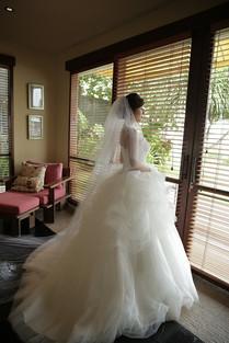 バリ島ウェディングドレス