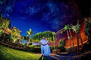 バリ島フォトウェディング<夜空撮影>