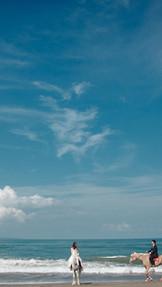 バリ島フォトウェディング<ホースライド>