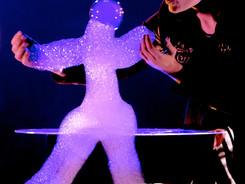 La marionnette de mousse de la Dompteuse de bulles