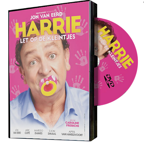 Harrie Let Op de Kleintjes DVD