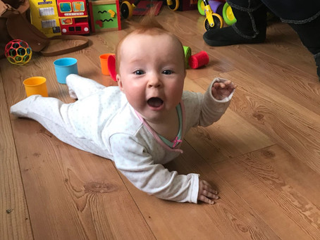 Baby hates tummy time - here's what to do instead...