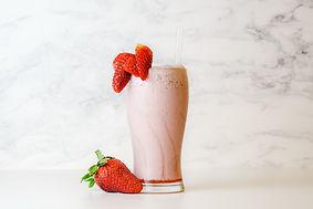 Milkshake fraise machine