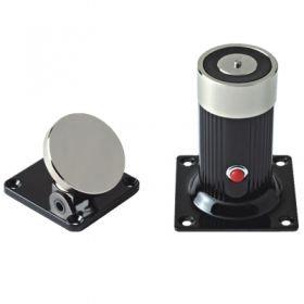 YD-602 - электромагнитный фиксатор двери настенного крепления