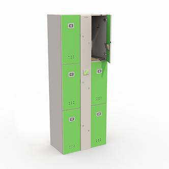 Блоки шкафов-локеров серии «LL 06A»
