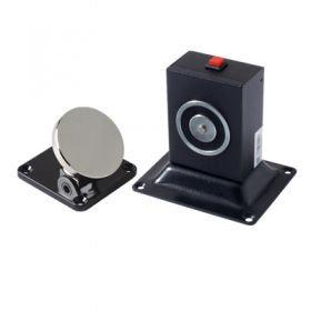 YD-605 - электромагнитный фиксатор двери настенного и напольного крепления