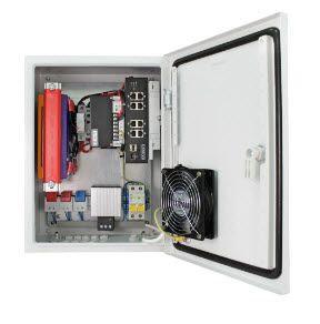 Уличная станция с термостабилизацией и резервным питанием, коммутатор SW-8091/IC