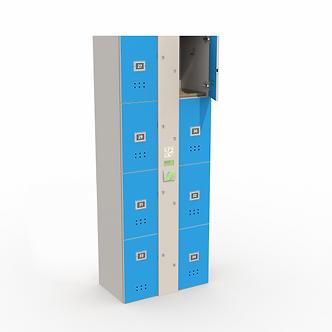 Блоки шкафов-локеров серии «LDL 08N»