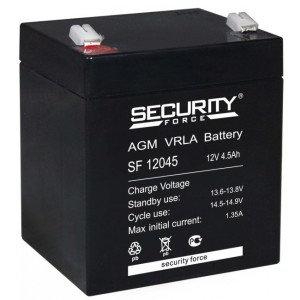 Аккумулятор 12V / 4.5A/ч