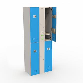 Блоки шкафов-локеров серии «LDL 04N»