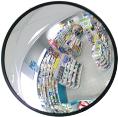 Зеркало DL 805 мм с черным кантом внутреннее