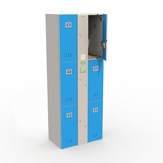 Блоки шкафов-локеров серии «LDL 06N»