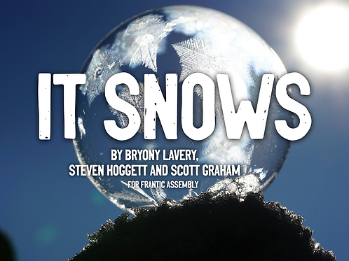 'It Snows' Digital Programme