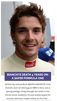 BIANCHI'S DEATH 4 YEARS ON A SAFER FORMU