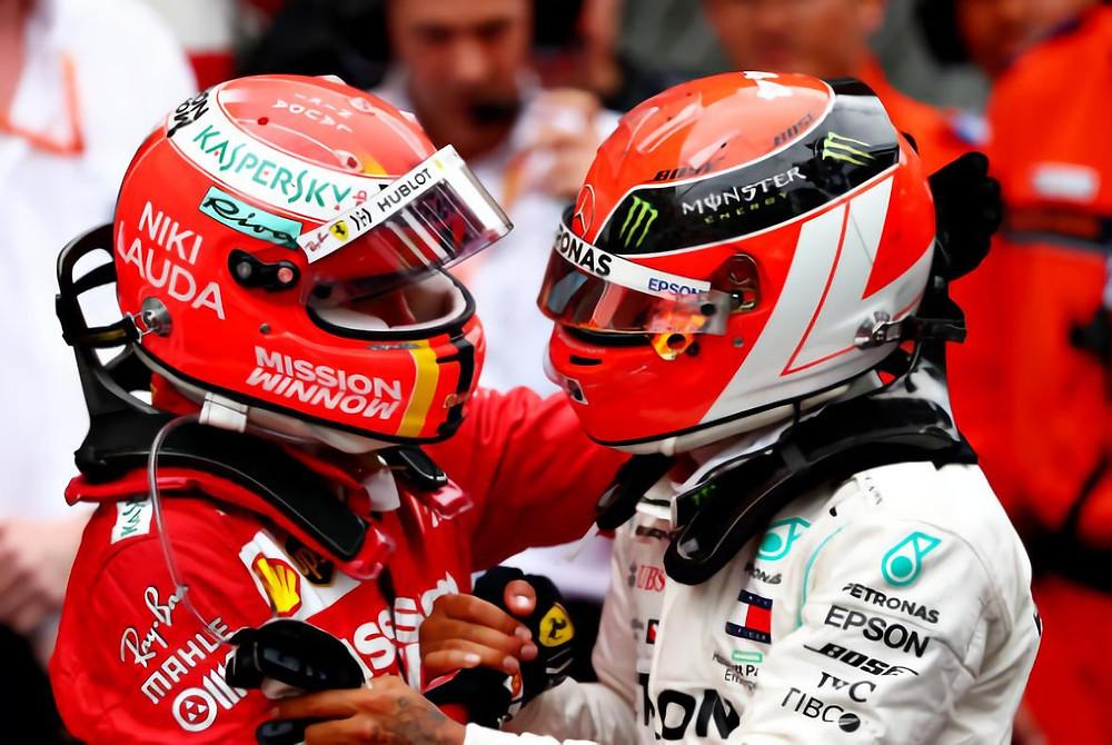 Hamilton & Vettel