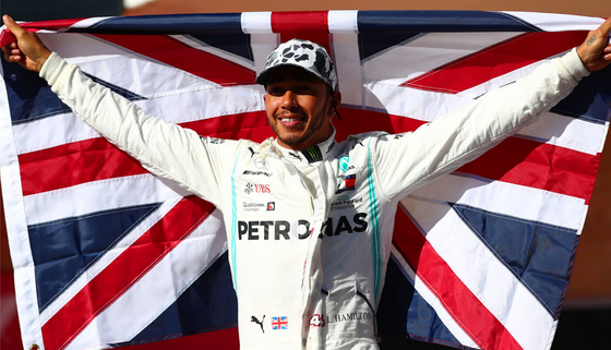 HAMILTON IS A SIX TIMES WORLD CHAMPION