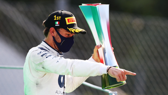 GASLY BECOMES A RACE WINNER AT ITALIAN GRAND PRIX