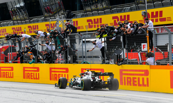 MERCEDES DOMINATE STYRIAN GRAND PRIX